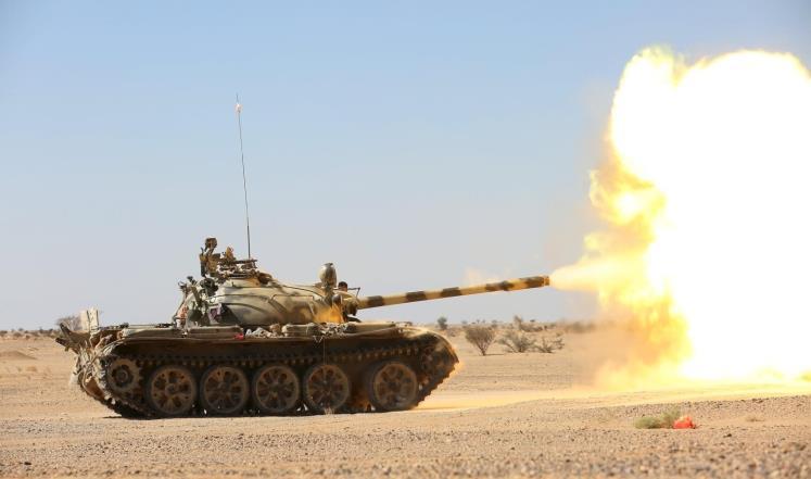 """Photo of الجيش اليمني يسيطر على مواقع جديدة في """"الجوف"""" ويحاصر جبل الأجاشر الإستراتيجي"""