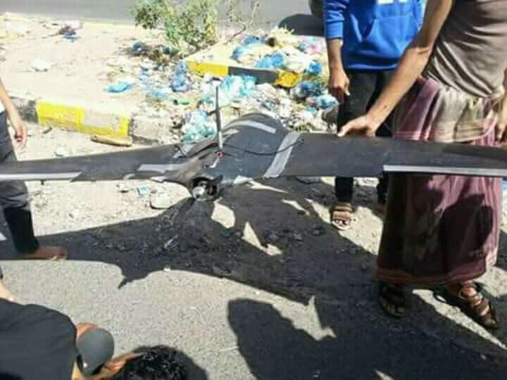 """Photo of الجيش اليمني يعلن إسقاط طائرة إستطلاع للحوثيين في """"تعز"""" وسط البلاد"""