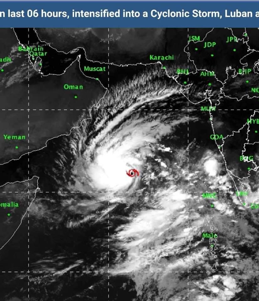 Photo of الأرصاد الجوية تحذر من عاصفة مدارية تتجه شرق مياه خليج عدن