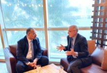 """Photo of """"الزُبيدي"""" يلتقي السفير البريطاني لدى اليمن في أبوظبي"""