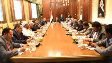 "Photo of ""هادي"" يؤكد على أهمية توحيد المواقف والرؤى بين الأحزاب السياسية والدولة"