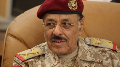 Photo of نائب الرئيس اليمني يصل مصر