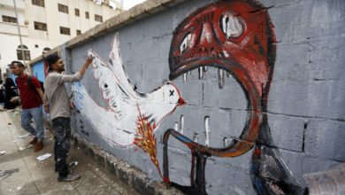 Photo of غرافيتي صنعاء: قصة حرب وألم