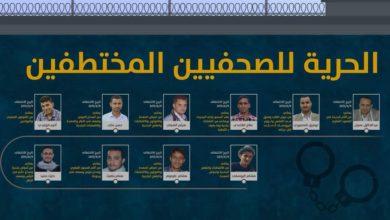 Photo of نقابة الصحفيين اليمنيين ترفض محاكمات الحوثي الهزلية بحق منتسبيها