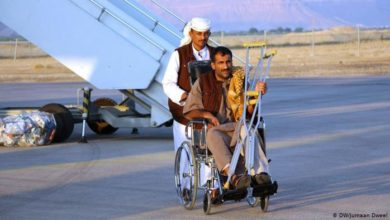 Photo of الحوثيون يعلنون انطلاق أول رحلة علاجية عبر مطار صنعاء في 3 فبراير