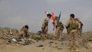 Photo of مقتل قيادات حوثية في نهم والجيش يحرر سلسة جبلية شرقي صنعاء