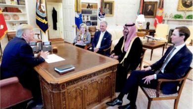 "Photo of ""بن سلمان"" يسلم رسالة للرئيس الأمريكي ويبحث خفض التصعيد عقب مقتل سليماني"
