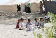 Photo of الأمم المتحدة توزع مساعدات غذائية لـ320 أسرة نازحة في مأرب