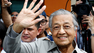 Photo of رئيس وزراء ماليزيا مهاتير محمد يقدم استقالته إلى الملك