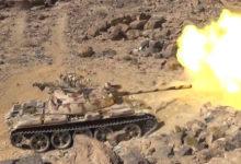 Photo of الجيش يستهدف تعزيزات الحوثيين في جبهة نهم شرق صنعاء