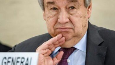 "Photo of ""غوتيريش"" يدعو الى ""وقف فوري لإطلاق النار في جميع انحاء العالم بسبب ""كورونا"""