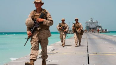 Photo of مسؤولون أمريكيون ينفون أن تكون المناورات بين الولايات المتحدة والإمارات استفزازاً لإيران