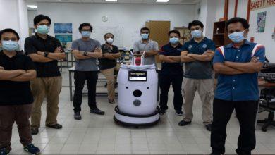 Photo of شاهد: علماء يبتكرون روبوتا على عجلات لفحص مرضى كورونا في المستشفيات