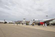 """Photo of مطار """"سيئون"""" الدولي يستقبل أولى الرحلات الجوية لليمنيين العالقين في الخارج"""