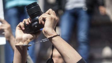 Photo of مرصد حقوقي يوثق 100 انتهاك ضد الصحفيين اليمنيين خلال النصف الأول من العام الجاري
