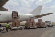 Photo of وصول شحنة أدوية ومستلزمات طبية إلى مطار عدن لمواجهة فيروس كورونا