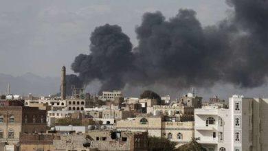 Photo of جماعة الحوثي تتهم التحالف باستهداف مخزن للمستلزمات الطبية جنوبي صنعاء