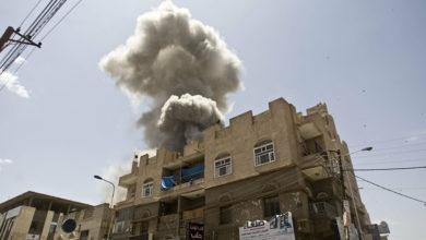 Photo of مقتل وإصابة ثمانية مدنيين بينهم أطفال بغارات جوية للتحالف على صعدة
