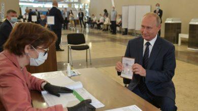 Photo of نتائج أولية.. روسيا تعلن تأييد التعديلات الدستورية بنسبة 73%