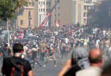 "Photo of احتجاجات غاضبة في ""بيروت"" اللبنانية ضد الحكومة والطبقة والسياسية"