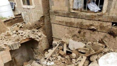 Photo of الحوثيون يوجهون نداء استغاثة لإنقاذ صنعاء القديمة من الانهيار جراء السيول