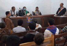 "Photo of محكمة حوثية تحكم بإعدام ""سلمان وترامب وهادي"" وآخرين في حادثة استهداف حافلة طلاب بصعدة"