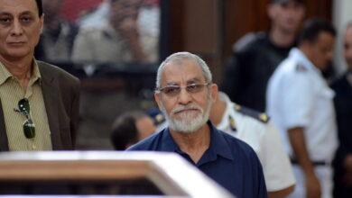 """Photo of مصر.. حكم ابتدائي بالسجن المؤبد لـ""""مرشد الإخوان"""" وآخرين"""