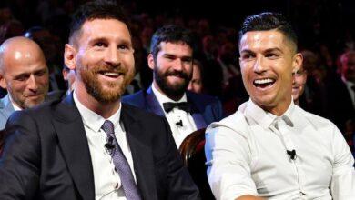 "Photo of غياب تاريخي.. ""ميسي و رونالدو"" خارج ""القائمة النهائية"" لأفضل لاعب بدوري الأبطال"