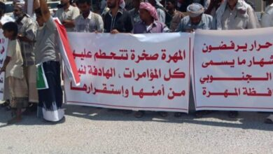 "Photo of اعتصام المهرة: التواجد السعودي بالمحافظة ""احتلال"" وليس نصرة للشرعية"