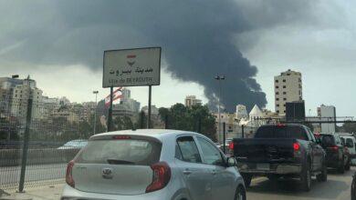 """Photo of اندلاع حريق جديد في """"مرفأ بيروت"""""""