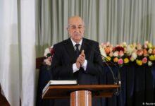 """Photo of الرئيس الجزائري يدخل الحجر الصحي """" الطوعي"""" بسبب كورونا"""