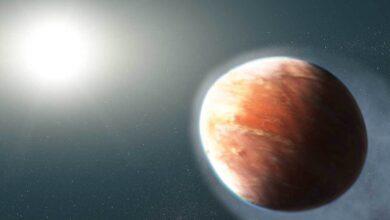 Photo of اكتشاف معادن متبخرة في هواء كوكب خارج المجموعة الشمسية
