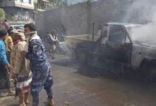 Photo of إصابة 7 مواطنين بانفجار عبوة ناسفة زرعت قرب سوق شعبي غربي مدينة تعز