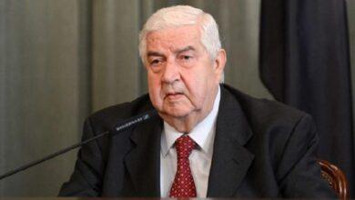 Photo of وفاة وزير خارجية النظام السوري وليد المعلم