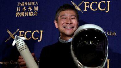 Photo of القمر: ملياردير ياباني يبحث عن أشخاص لمرافقته في رحلة مجانية إلى الفضاء