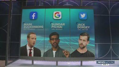 Photo of رؤساء فيسبوك وتويتر وجوجل يدافعون عن منصاتهم أمام الكونغرس.. هذا ما سيقولونه