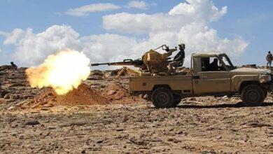 Photo of قتلى وجرحى حوثيون في مواجهات مع الجيش شرقي الجوف