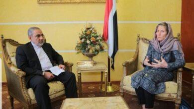 Photo of الخارجية اليمنية تحتج على لقاء رئيسة بعثة الصليب الأحمر بسفير إيران لدى الحوثيين