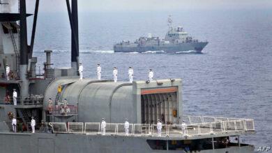 """Photo of """" استهداف سفينة إيرانية في البحر الأحمر"""" والبنتاغون يعلق"""