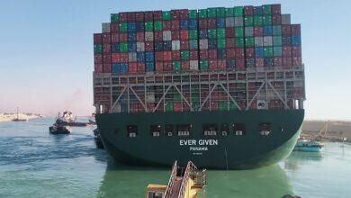 "Photo of مصر تحتجز السفينة ""إيفرغيفن"" وتطالبها بدفع 900 مليون دولار.. والشركة المؤمنة ترد"