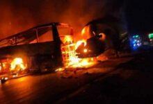 Photo of مصرع 20 شخصا وإصابة 3 آخرين في حادث سير جنوبي مصر