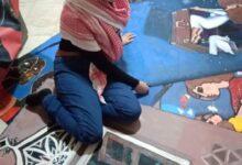 Photo of فنانة فلسطينية ترسم على مخيمات اللجوء قصص التهجير والبعد عن الأوطان